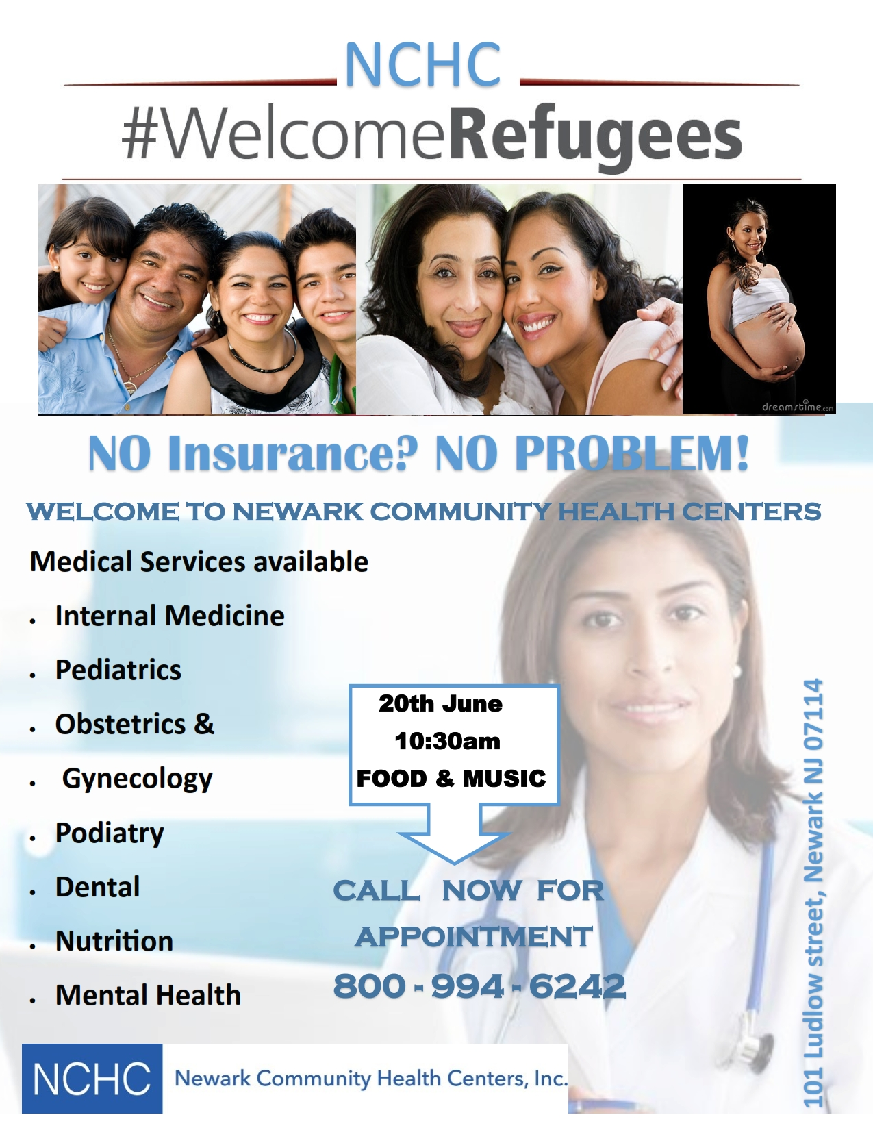 Nchc Welcomes Refugees Newark Community Health Center
